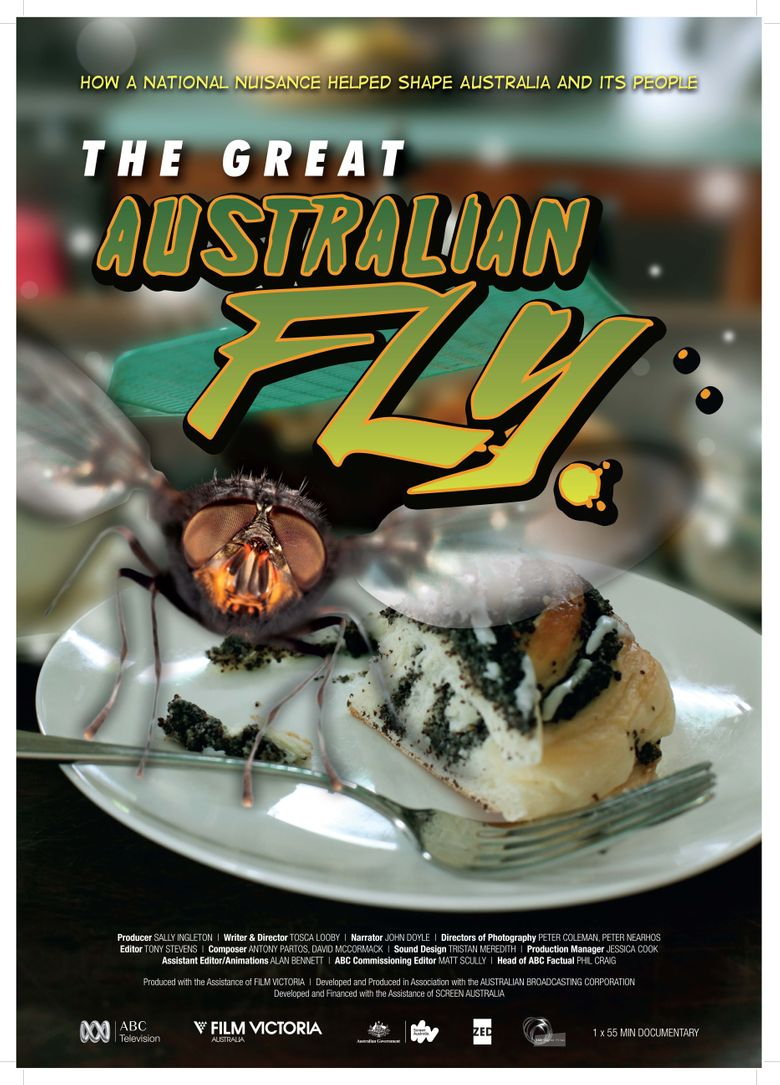 The Great Australian Fly Poster