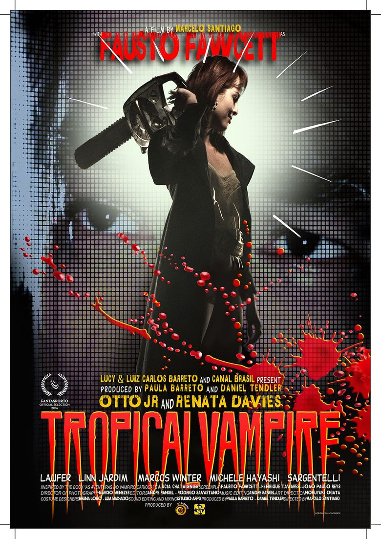 Tropical Vampire Poster