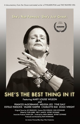 She's The Best Thing in It Poster