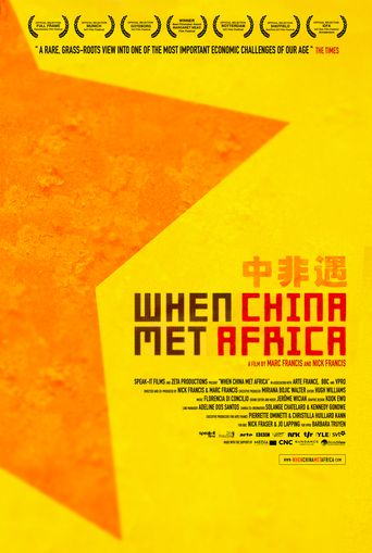 When China Met Africa Poster
