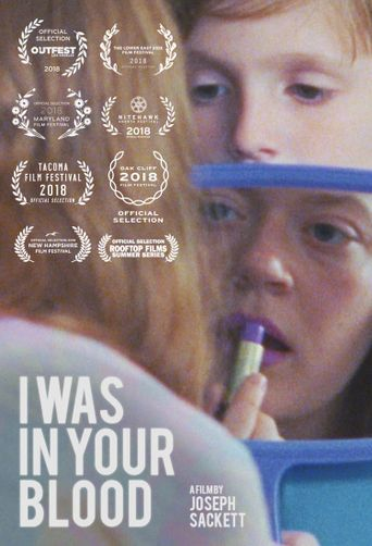 I Was in Your Blood Poster