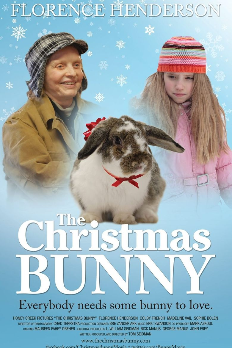 The Christmas Bunny Poster