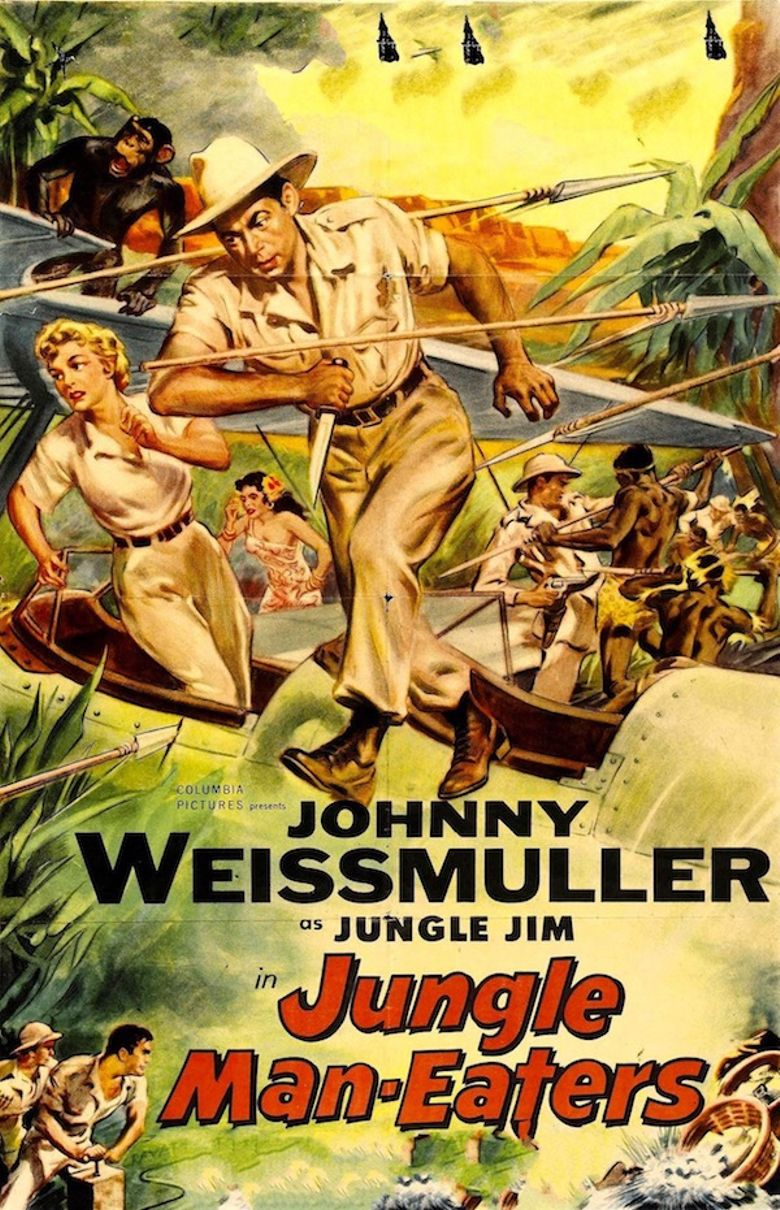 Jungle Man-Eaters Poster