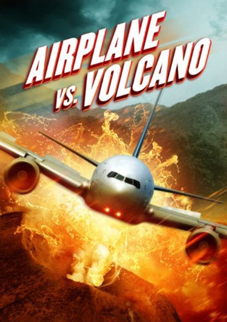 Airplane vs Volcano Poster