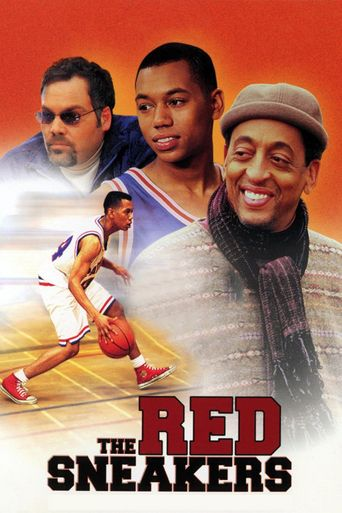 The Red Sneakers Poster