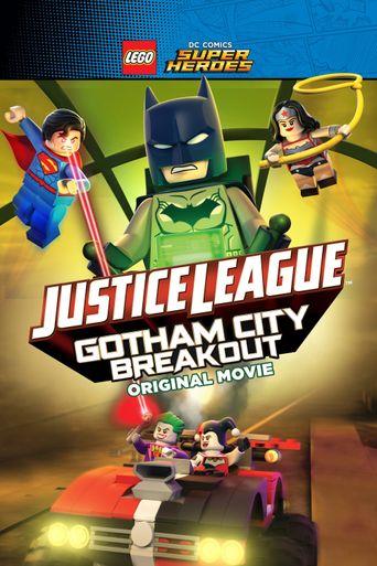 LEGO DC Comics Super Heroes: Justice League - Gotham City Breakout Poster