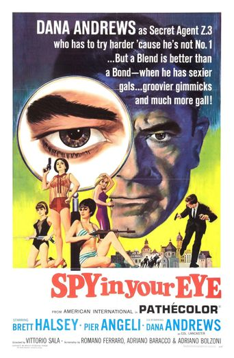 Spy in Your Eye Poster