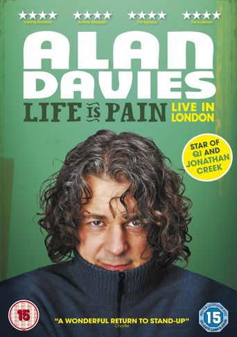 Alan Davies: Life is Pain Poster
