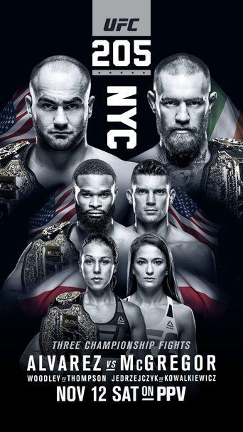UFC 205: Alvarez vs. McGregor Poster