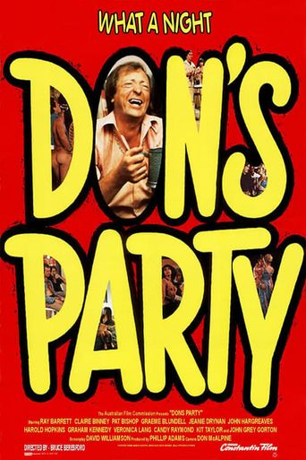 Don's Party Poster