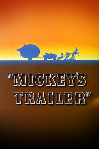 Mickey's Trailer Poster