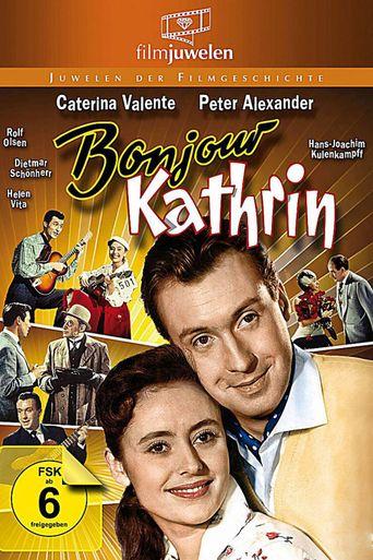 Bonjour Kathrin Poster