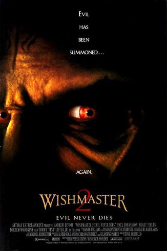 Watch Wishmaster 2: Evil Never Dies