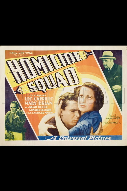 Homicide Squad Poster