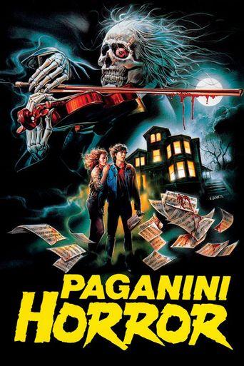 Paganini Horror Poster