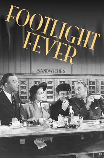 Footlight Fever Poster