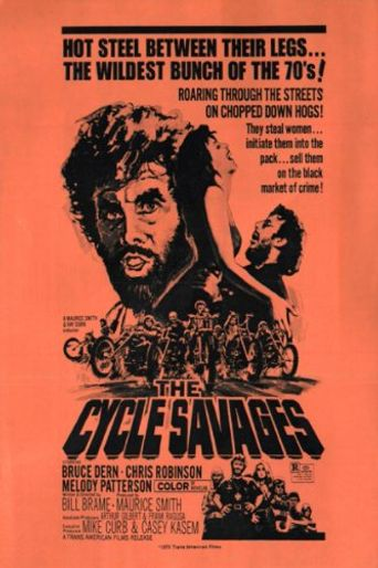 The Cycle Savages Poster