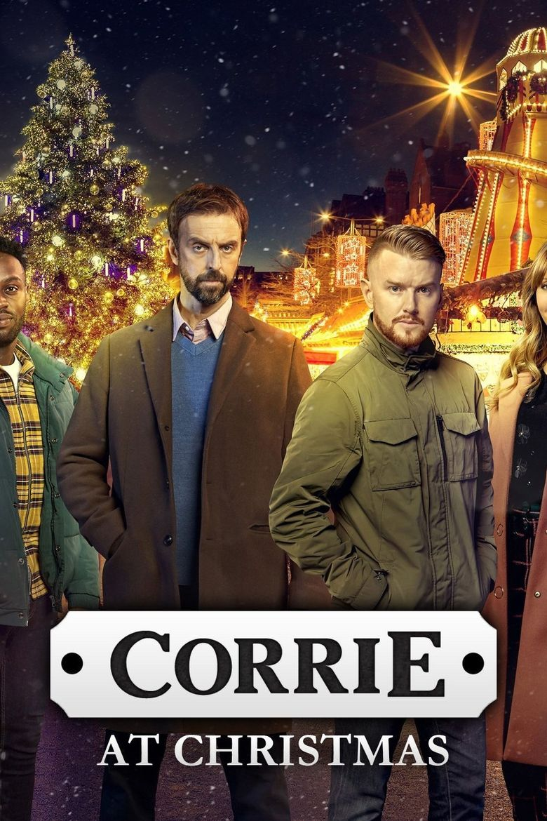 Corrie at Christmas Poster