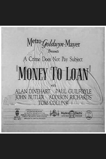 Money to Loan Poster