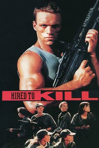 Hired to Kill Poster