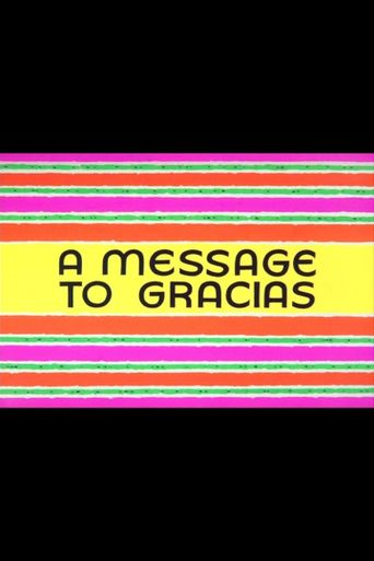 A Message to Gracias Poster
