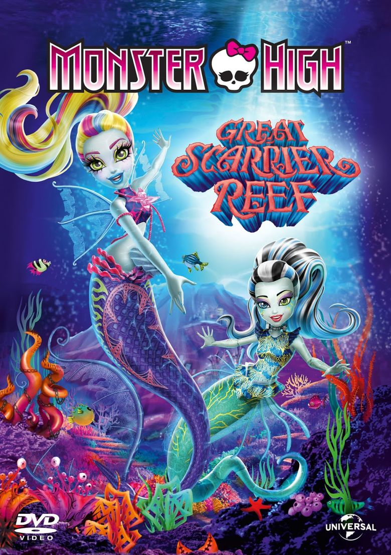 Monster High: Great Scarrier Reef Poster