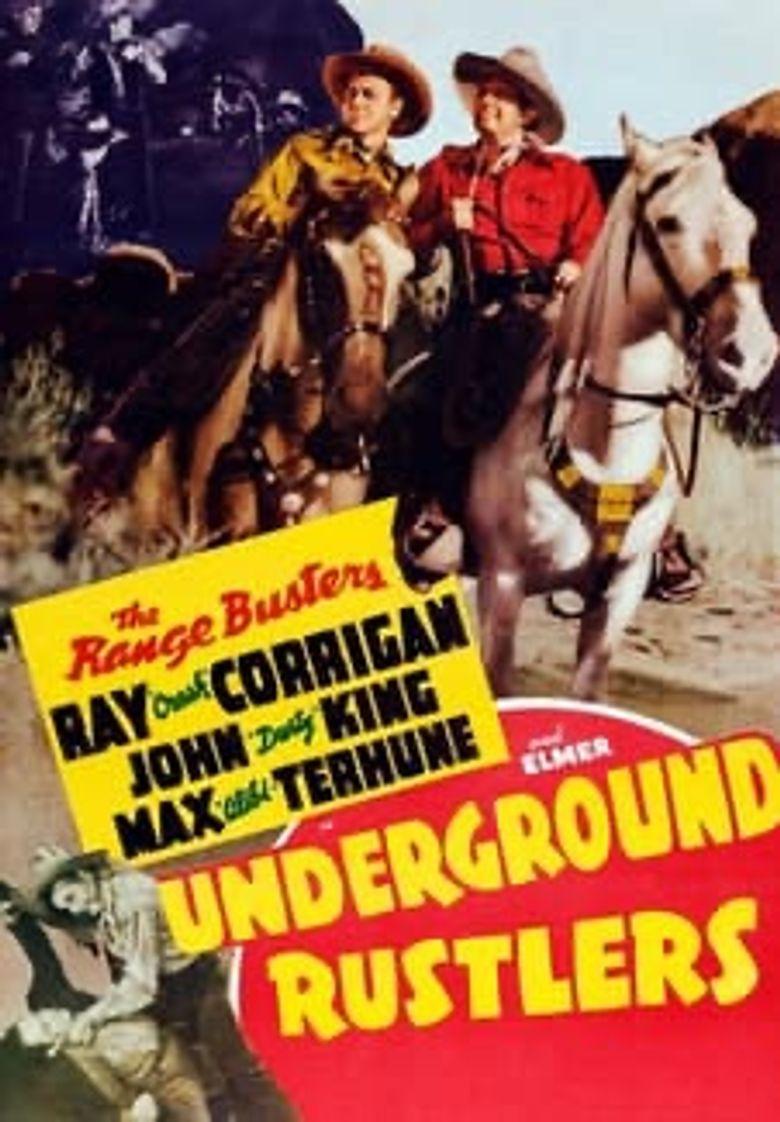 Underground Rustlers Poster