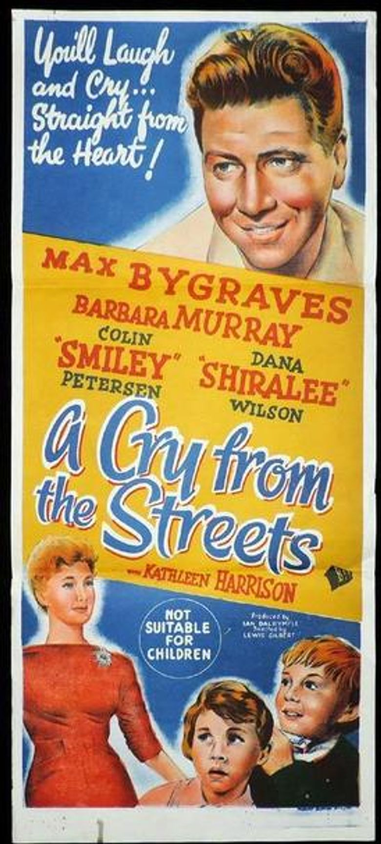 A Cry from the Streets Poster