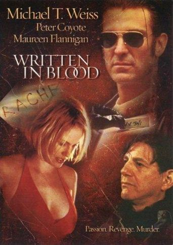 Written in Blood Poster