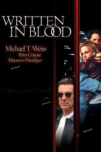 Written In Blood Poster