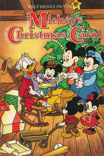 Mickey's Christmas Carol Poster
