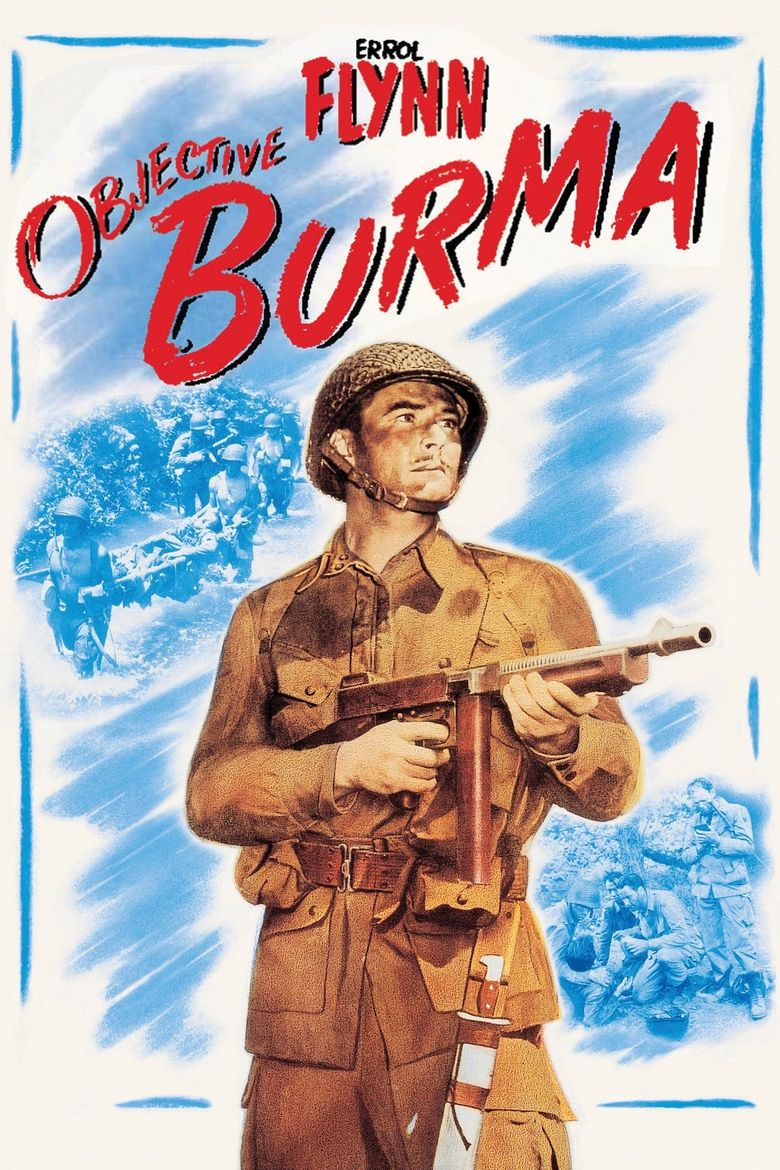Objective, Burma! Poster
