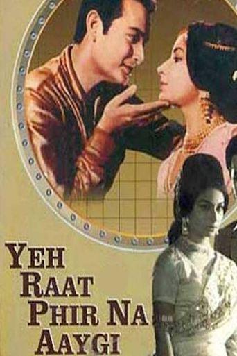 Yeh Raat Phir Na Aaygi Poster