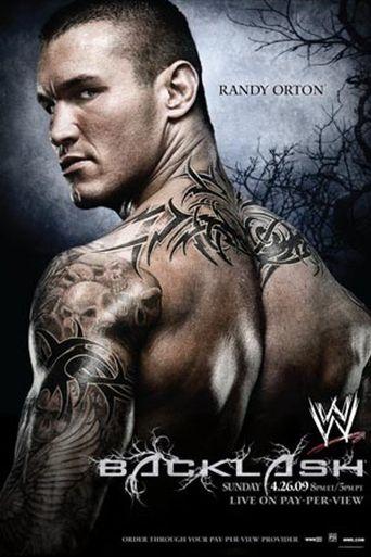 WWE Backlash 2009 Poster