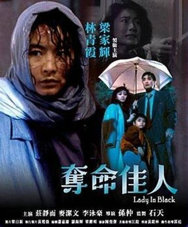 Lady in Black Poster