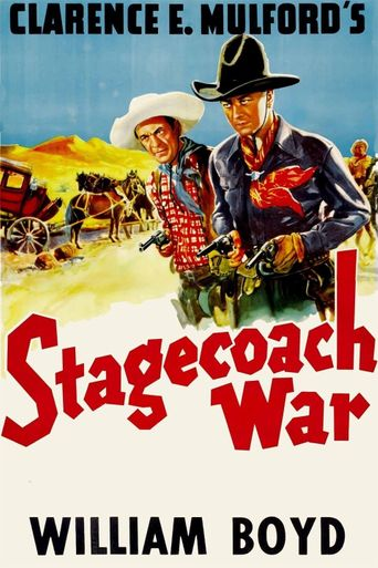 Stagecoach War Poster