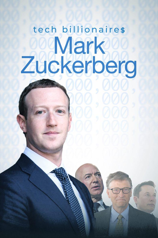 Tech Billionaires: Mark Zuckerberg Poster