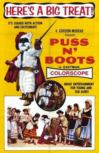 Puss 'n Boots Poster
