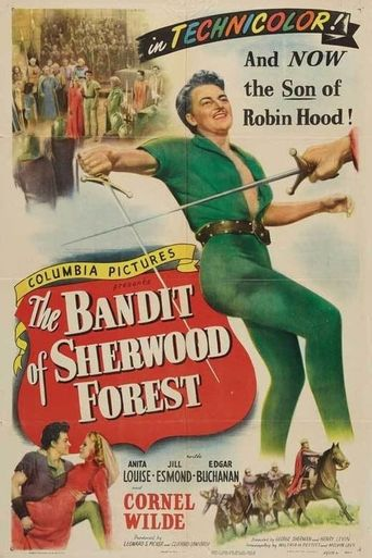 The Bandit of Sherwood Forest Poster