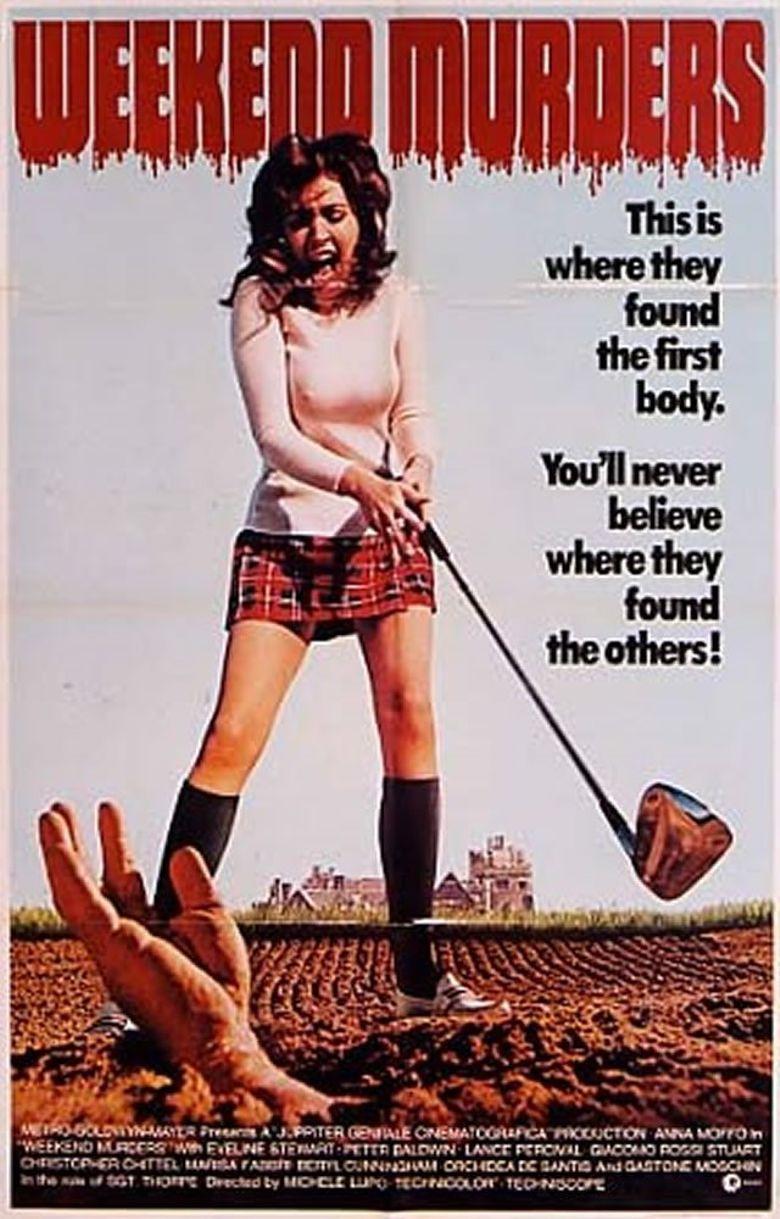 The Weekend Murders Poster