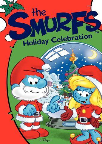 The Smurfs Holiday Celebration Poster