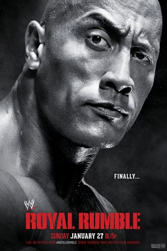 WWE Royal Rumble 2013 Poster