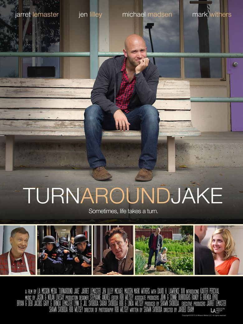 Turn Around Jake Poster