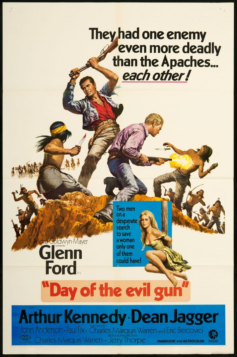 Day of the Evil Gun Poster