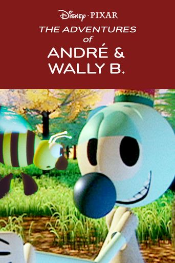 The Adventures of André and Wally B. Poster