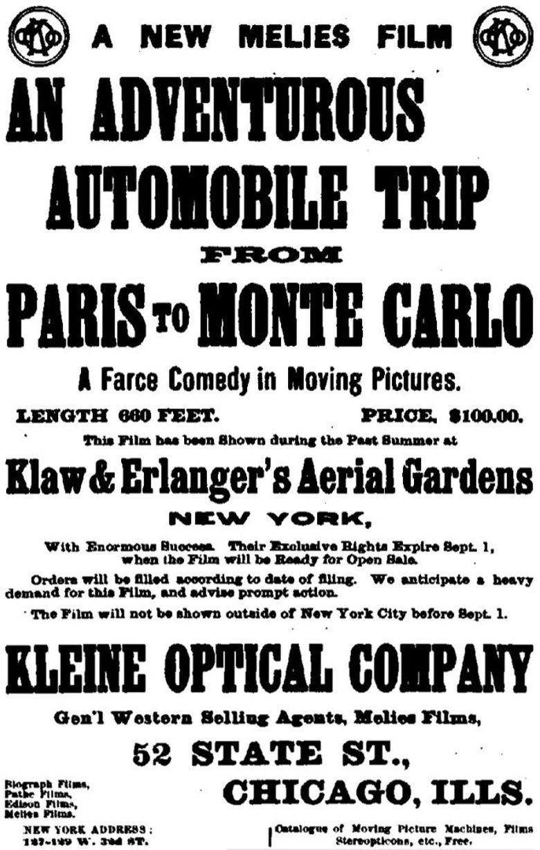 An Adventurous Automobile Trip Poster