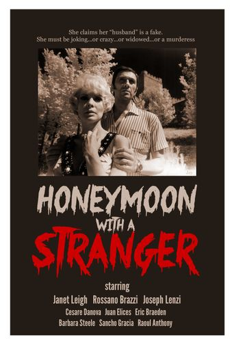 Honeymoon with a Stranger Poster