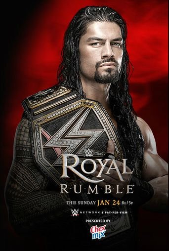 WWE Royal Rumble 2016 Poster