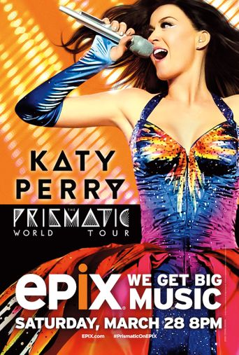 Katy Perry : The Prismatic World Tour Live Poster
