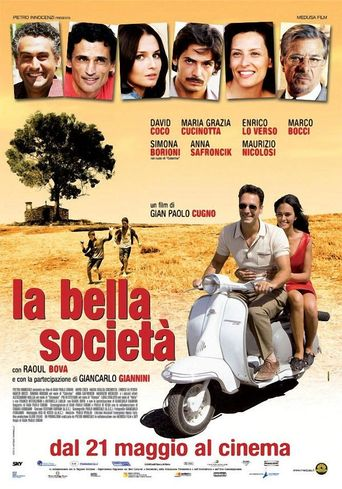 La bella società Poster